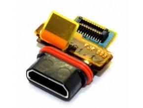Sony E5803, E5823 Xperia Z5 Compact - Flex kabel nabíjania- 1293-7601