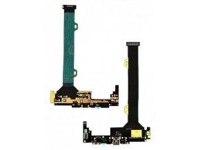 Flex kábel nabíjania Lenovo Vibe Z2 Pro K920 - nabíjací konektor, mikrofón