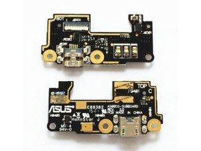 Spodná doska nabíjania Asus Zenfone 5 - flex nabíjací konektor, mikrofón