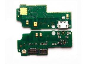 Spodná doska nabíjania Huawei Honor 3X G750 + Mikrofón