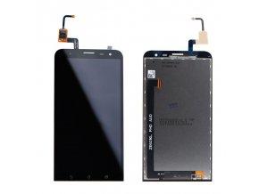LCD displej Asus Zenfone 2 ZE601KL čierny a dotykové sklo  + Lepka zdarma
