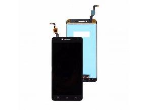 Lenovo A6020 ver. a40 - LCD displej a dotykove sklo čierny   + 3M lepka zdarma