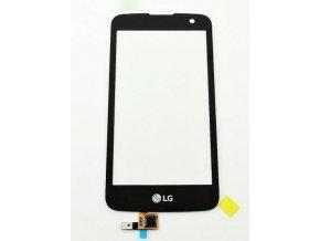 LG K4 LTE K120e - Dotykové sklo čierny EBD62626401  + 3M lepka zdarma