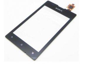 Dotykové sklo Sony Xperia E C1505, C1504 black + lepka