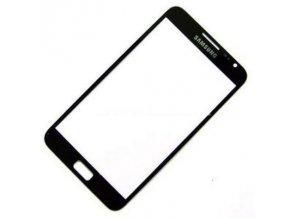 Sklíčko Samsung Galaxy Note I9220,N7000 black + lepka