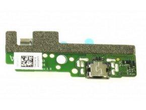 Doska nabíjania Sony Xperia E5 - Flex nabíjací konektor a mikrofón
