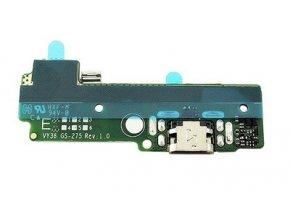 spodná doska nabijania F3111, F3112 sony xperia XA + mikrofón