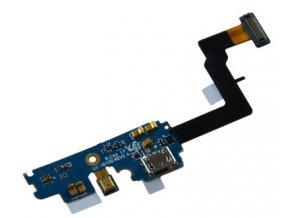 Flex kábel Samsung I9100 nabijací konektor