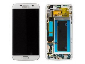 samsung g935 galaxy s7 edge lcd displej dotykove sklo rose gold gh97 18533e