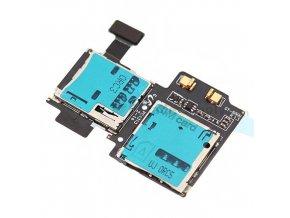 Flex kábel Samsung I9500 I9505 SIM čítač