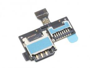 Flex kábel Samsung Galaxy S4 mini I9195 SIM čítač