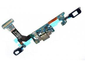 Flex kábel nabíjania Samsung Galaxy S7 - nabíjací konektor, mikrofón