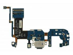 Flex nabíjania Samsung Galaxy S8 Plus - nabíjací konektor, mikrofón
