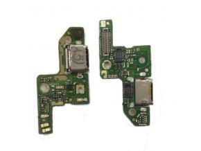 Doska nabíjania Huawei Honor 8 - nabíjací konektor, mikrofón