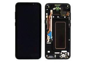 LCD displej Samsung G955F Galaxy S8 Plus a Dotykové sklo s rámom