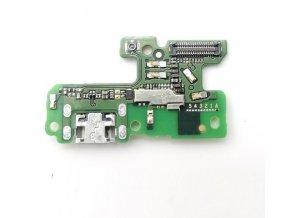 Spodná doska nabíjania Huawei P9 Lite 2017 - nabíjací konektor, mikrofón