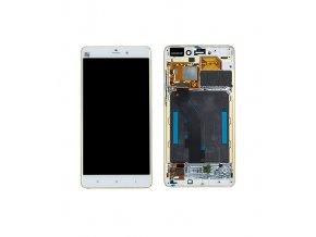 LCD displej Xiaomi Mi Note Pro a Dotykové sklo a rám zlatý