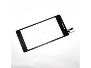 Sony D2303 Xperia M2 - Dotykové sklo čierny   + 3M lepka zdarma