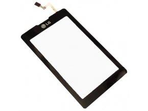 LG KP500, KP501 - Dotykové sklo čierny  + 3M lepka zdarma