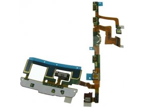 Flex kábel zapínania a hlasitosti Sony Ericsson U5i Vivaz a mikrofón