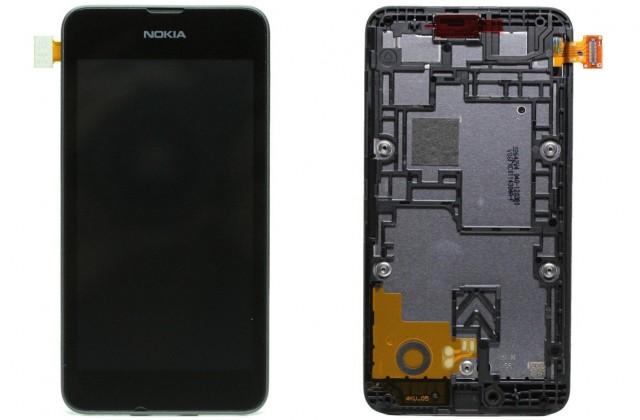 LCD displej Nokia Lumia 530 Dual + rám