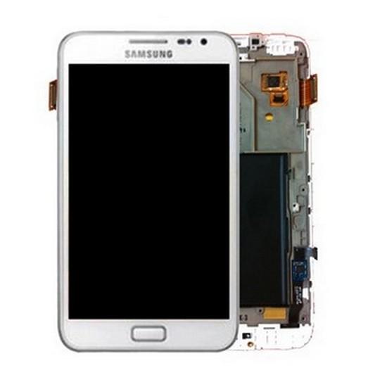 LCD Displej+ Dotyková Deska Samsung Note N7000 White