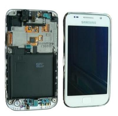 LCD Displej+ dotykova plocha Samsung Galaxy S I9000 white