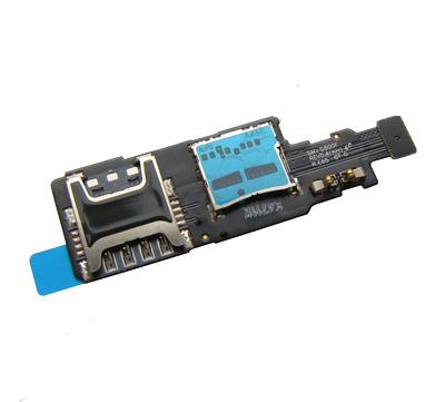 Flex kábel sim čítač + pamäťovej karty Samsung S5 mini G800F