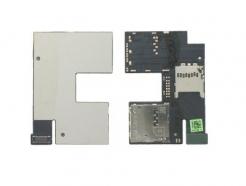 Flex kábel HTC Desire 500 Sim čítač a pamätovej karty