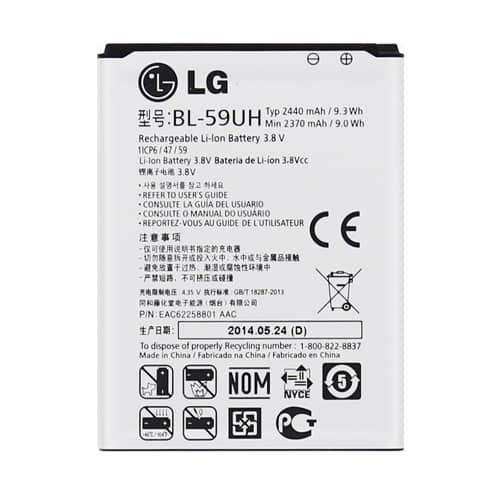 Batéria LG BL-59UH (bulk)