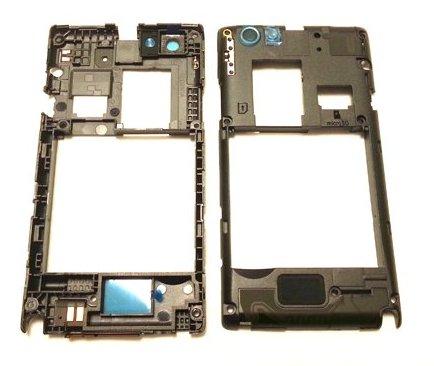 Stredový rám Sony Xperia Miro ST23i black