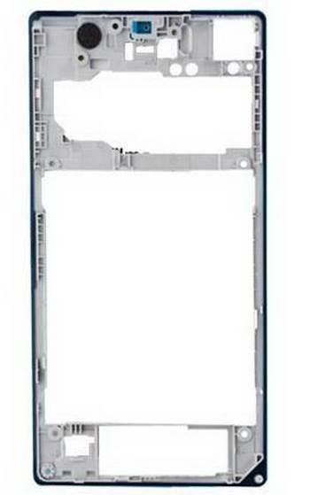 Kryt Sony Xperia Z1 C6903 zadný white