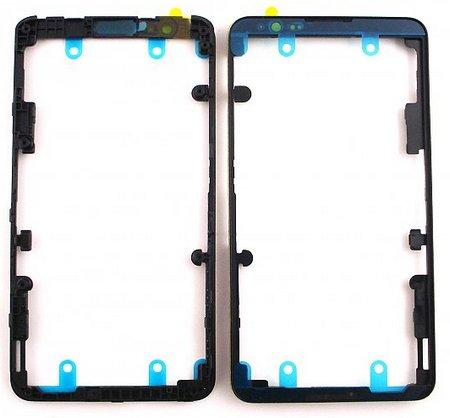 Stredový rám skla Sony Xperia E4 E2105 black