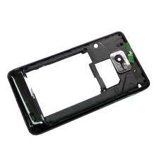 Stredový kryt Samsung Galaxy S2 I9100 black