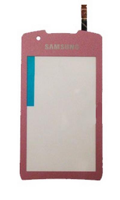 Dotykové sklo Samsung Monte S5620 pink + lepka