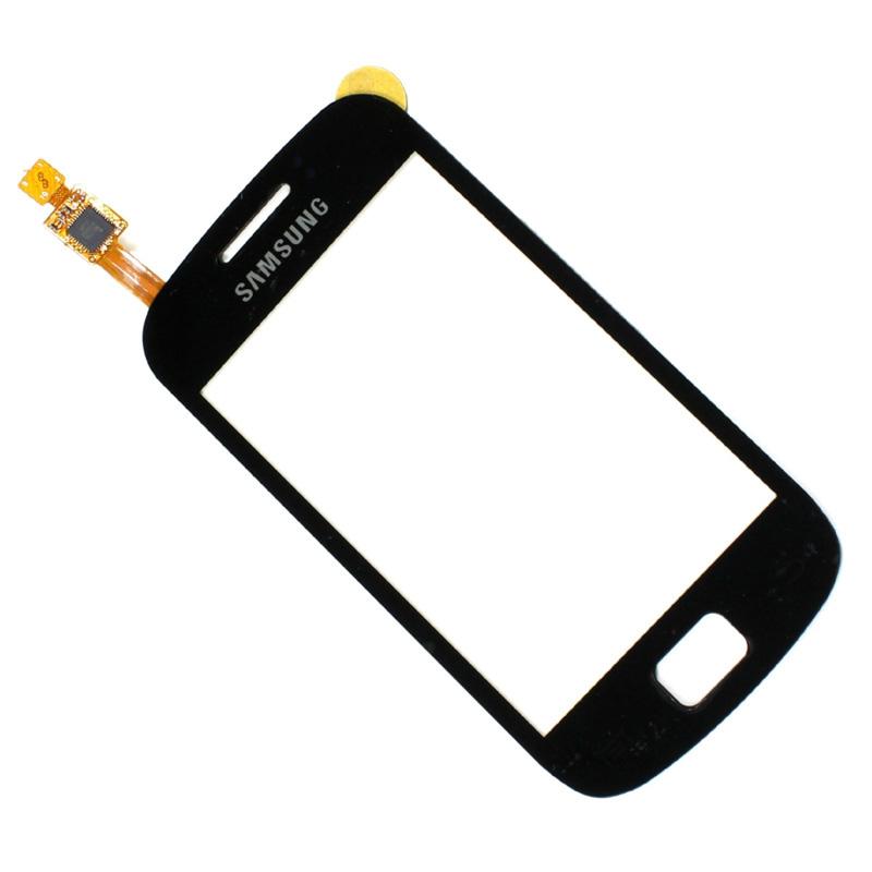 Dotykové sklo Samsung Galaxy mini2 S6500 black + lepka
