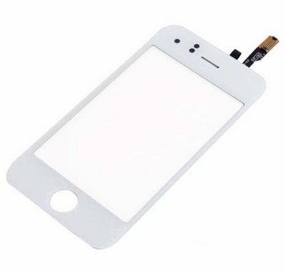 Dotykové sklo Iphone 3G black+lepka