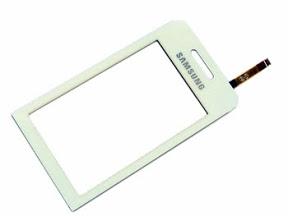Dotykové sklo Samsung S5230 Star white + lepka