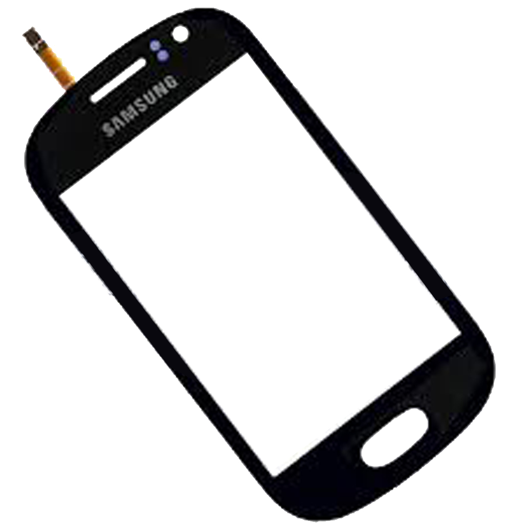 Dotykové sklo Samsung Galaxy Fame S6810, S6810P black + lepka