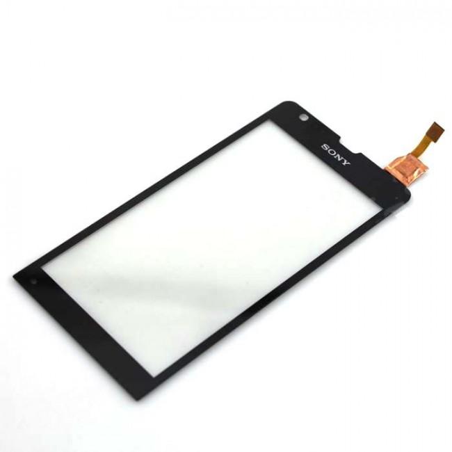 Dotykové sklo Sony Xperia SP C5303 M35h black + lepka