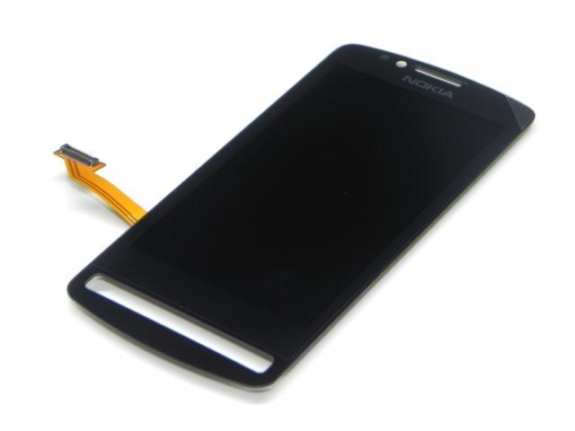 LCD displej Nokia 700 black + dotykova plocha