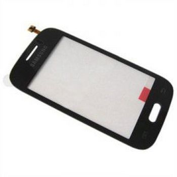 Dotykové sklo Samsung Galaxy Young S6310 black + lepka