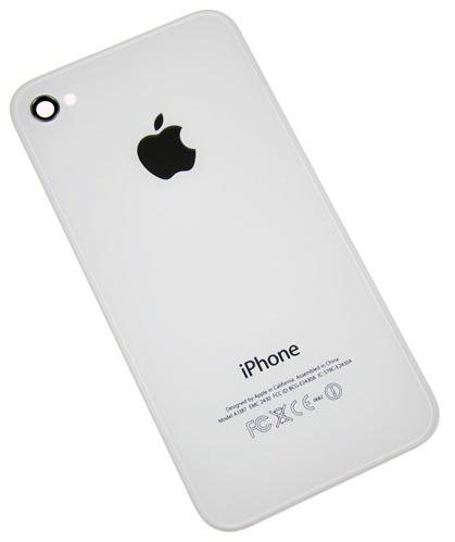 Baterkový kryt Iphone 4 white