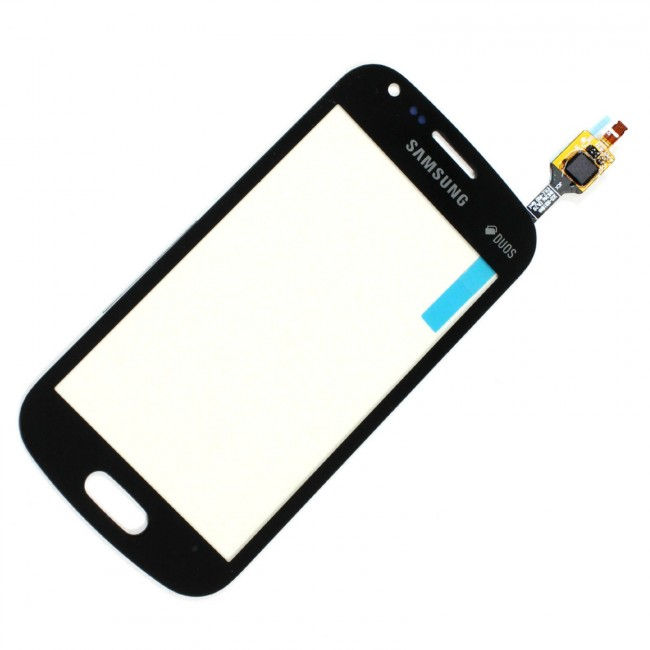 Dotykové sklo Samsung Galaxy Trend Plus S7580 black + lepka