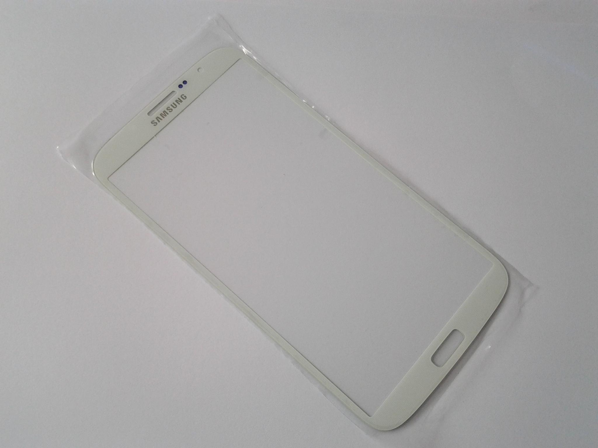 Sklíčko Samsung Galaxy Mega I9200 white + lepka