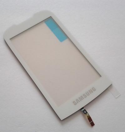 Dotykové sklo Samsung S5560i white+ lepka