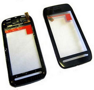 Dotykove sklo Nokia 603 black