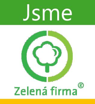 Jsme zelená firma