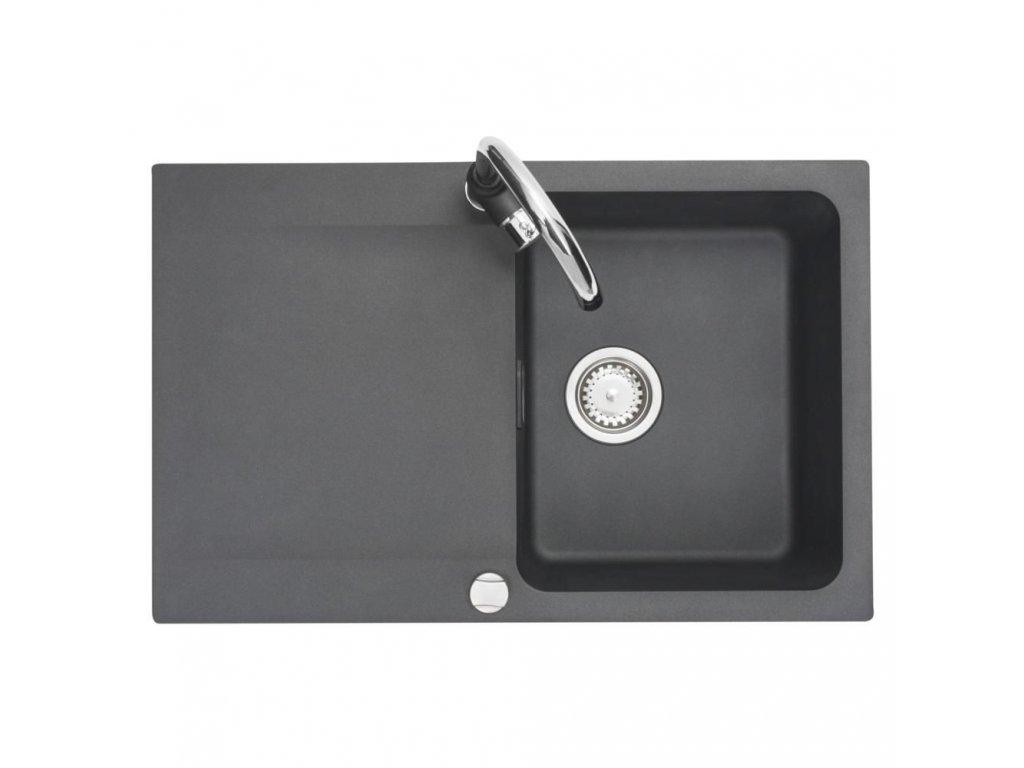 Kuchyňský set Franke (dřez OID 611-78 + baterie Franke Pola) Černá