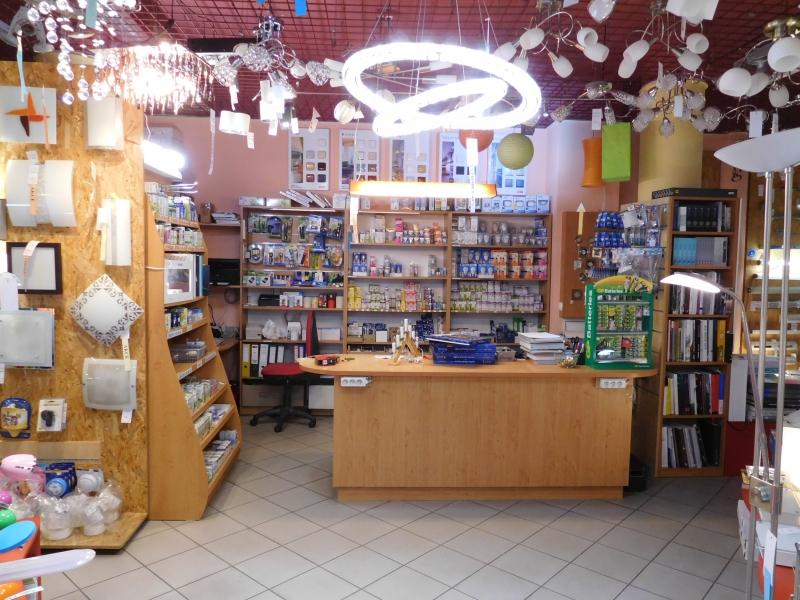 Kamenná prodejna svítidel v Uherském Hradišti